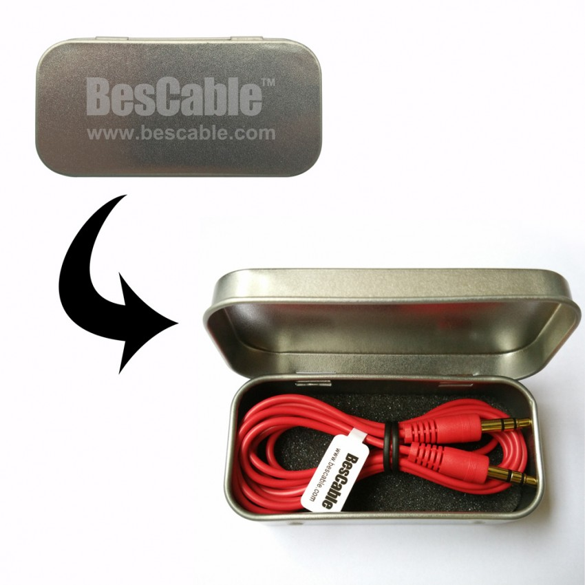 Auxiliary cable for car